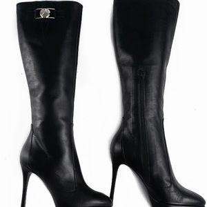 Versace Medusa Head Boots